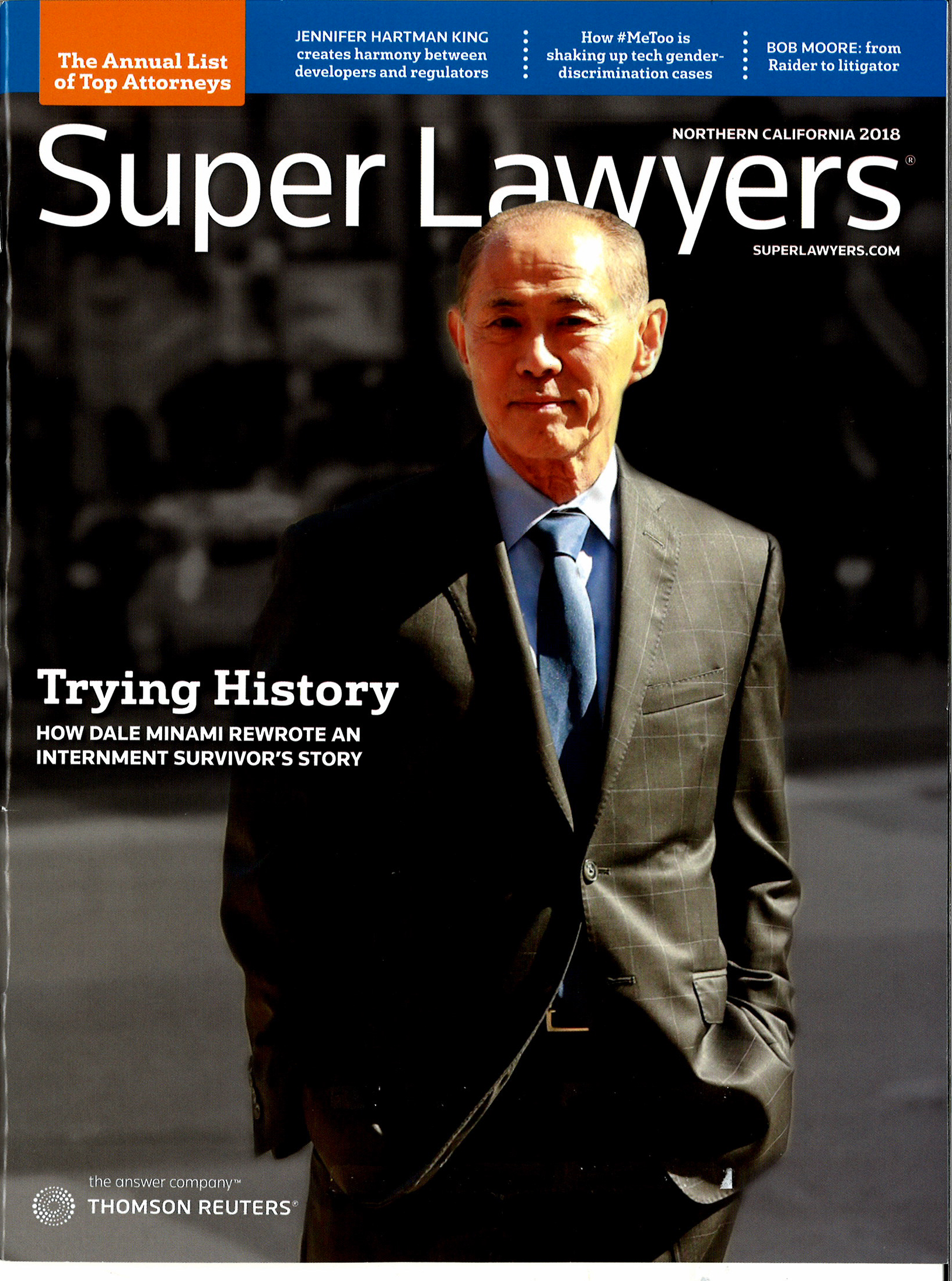Selected for 11 years by Super Lawyers