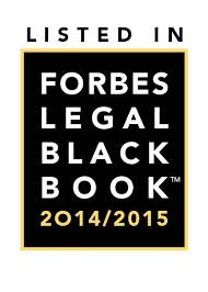 Forbes Legal Black Book Award