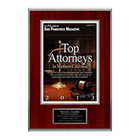 SF Magazine  Top Rated Attorney
